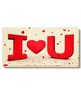 Шоколад на память  «Я тебя люблю»
