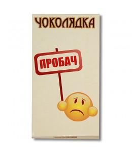 Шоколад на память  «Прости» молочный