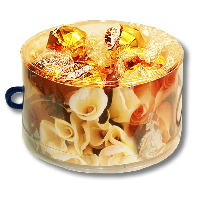 "Тубус  ""Букет"" с конфетами"
