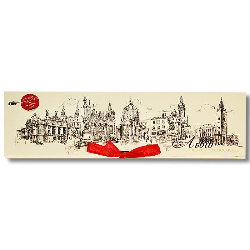 """Шоколадная  открытка """"Львов Графити"""""""