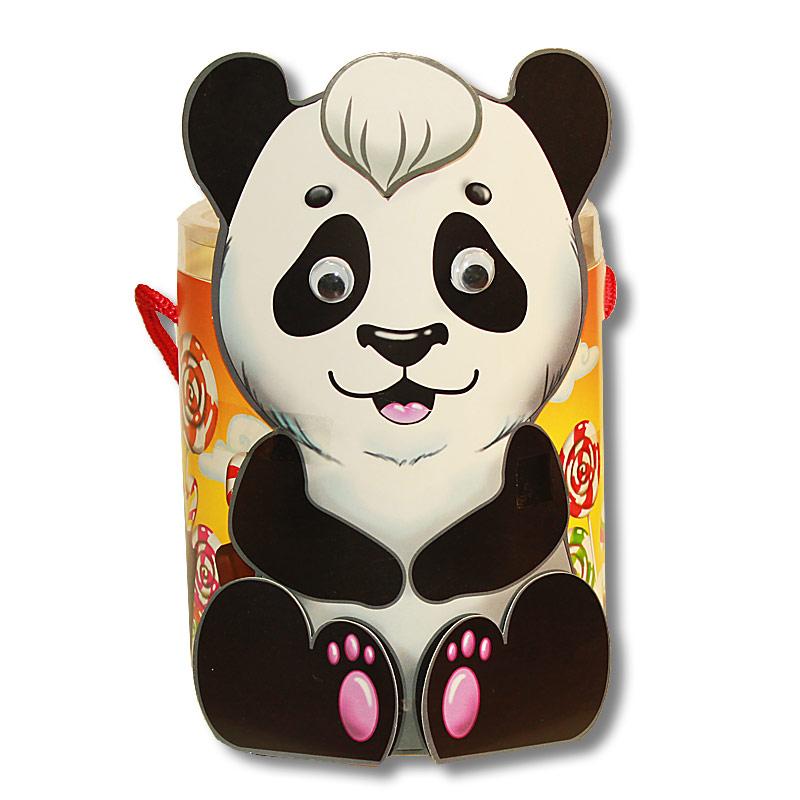 """Тубус """"Панда"""" с конфетами"""