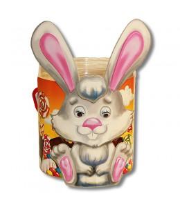 """Тубус """"Зайчик"""" с конфетами"""